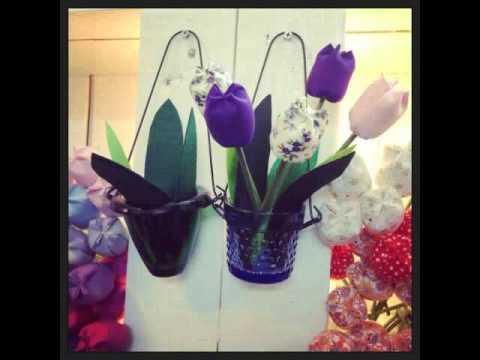 hoa tulip vải nhồi bông - một sự lựa chọn tuyệt vời cho những người bạn yêu thương