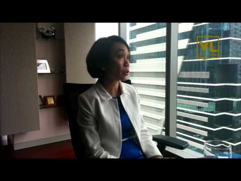 Voices of Leaders Interviews Rizalina Mantaring, CEO/President, Sun Life Financial (Philippines)