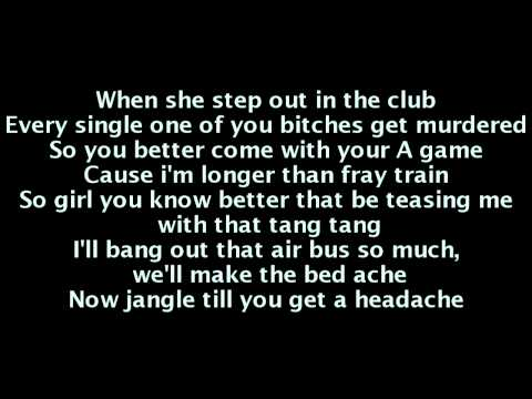 Ludacris - Jingalin (Lyrics On Screen)