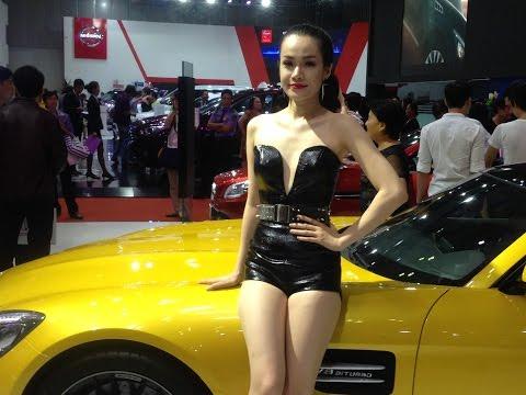 dàn mẫu của Mercedes tại Viet Nam motor Show