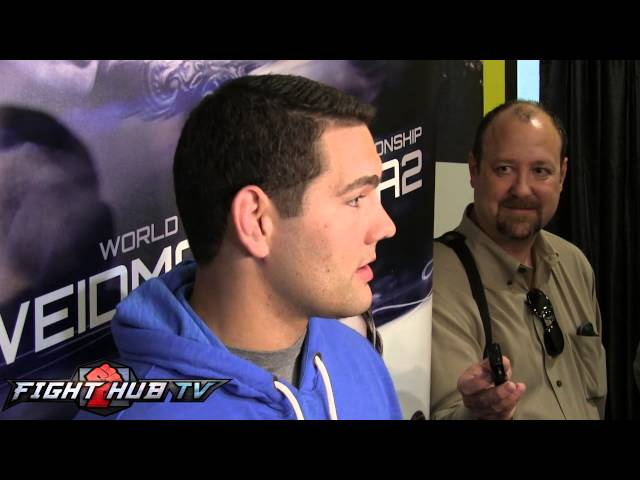 """Chris Weidman """"I want to be known as one of the G.O.A.T."""" Talks Anderson Silva"""
