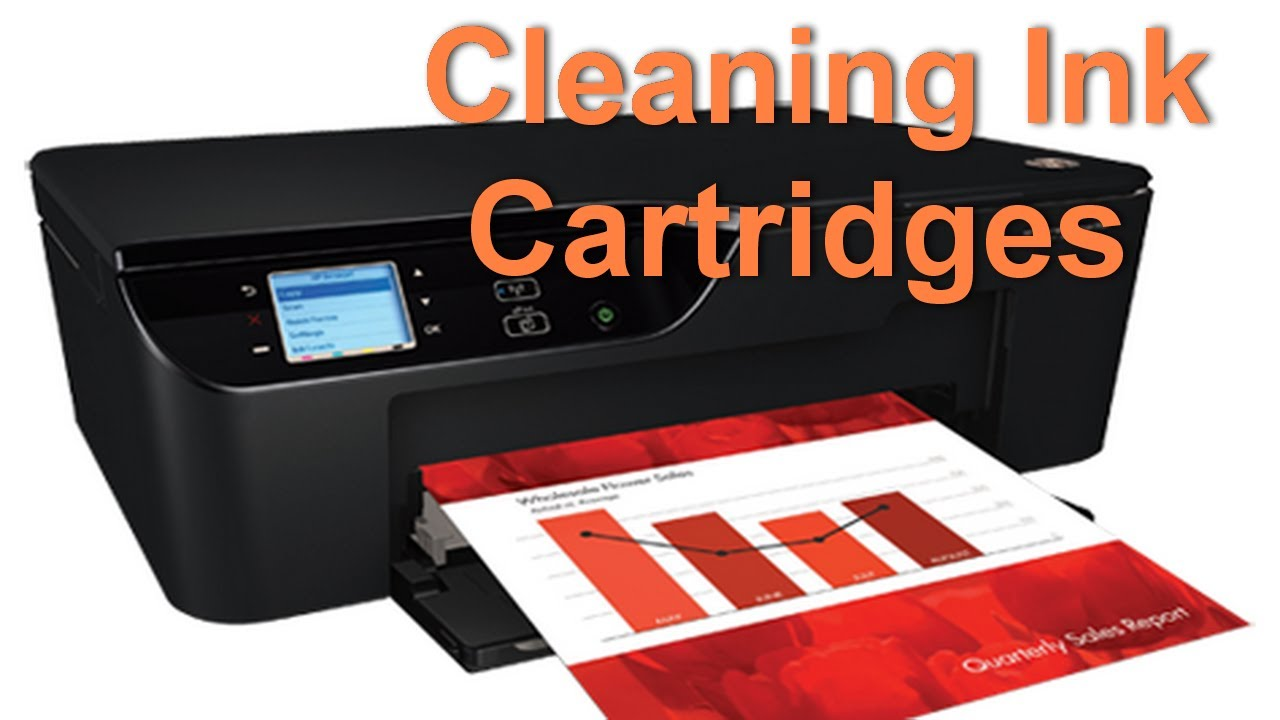 how to clean hp deskjet