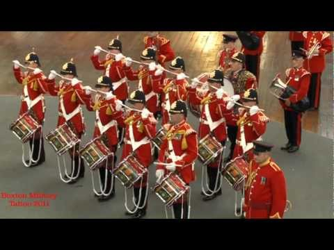Buxton Military Tattoo 2011 - The Yorkshire Volunteers Band  Corps of Drums