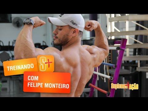Treino de costas Felipe Monteiro