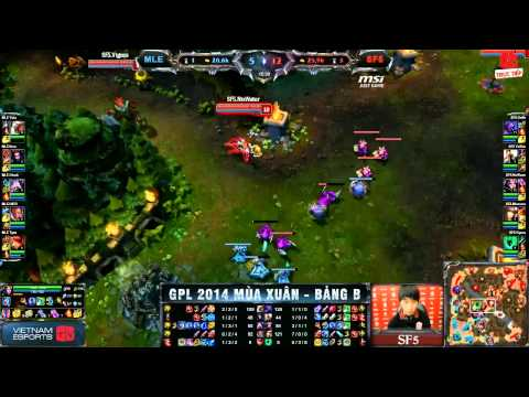 [12.03.2014] MLE vs SF5 [GPL Xuân 2014]