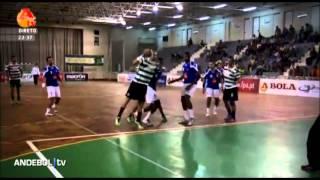 Andebol :: 01J :: Sporting - 39 x Belenenses - 27 - 2013/2014