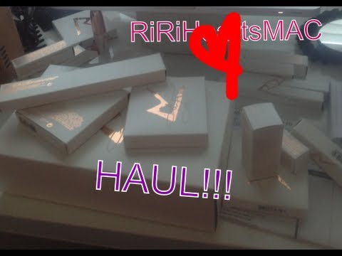 RiRi Hearts MAC Holiday Collection HAUL!!!