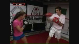 Hotstuff Hollie Beatdown on Tim