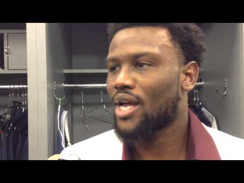 Locker-room video: Walter Thurmond (Week 11 - Seahawks beat Vikings)