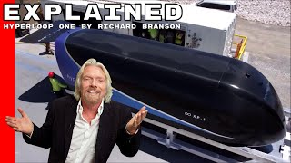 Hyperloop One Explained By Richard Branson
