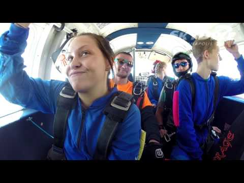 Nicole Willoughby's Tandem skydive!