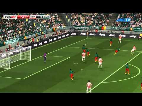 PES 2014 - Brazil 2014 Simulation - Croatia vs. Cameroon