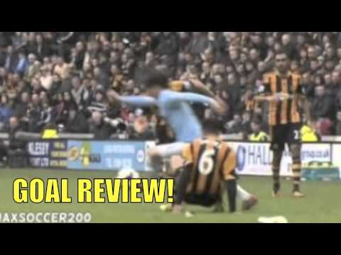 GOAL! Edin Dzeko Goal Hull City vs Manchester City 0-2 [15/03/2014] REVIEW