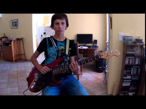 Supermassive Black Hole de Muse.guitar cover par jeremy corbel