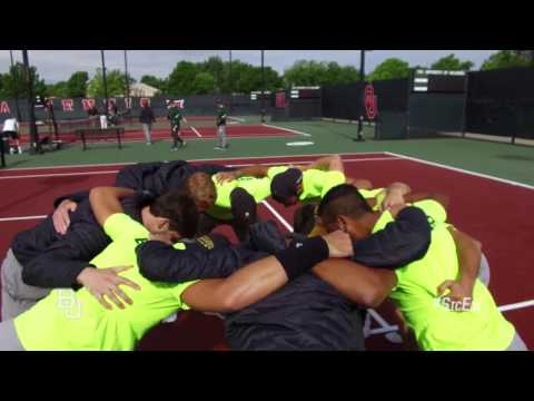 Baylor Men's Tennis: Big 12 Tournament Highlights vs. Texas Tech