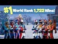 TESTING NEW SHOOTING 1 World Ranked 1 722 Solo Wins Sponsor Goal 723 800