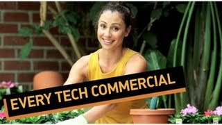 Every Tech Commercial Ever Made