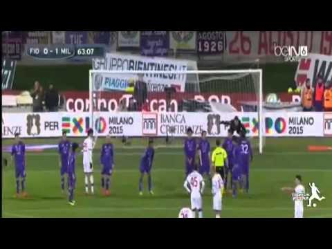 Fiorentina vs Ac Milan 0- 2   All Goals 26/03/2014