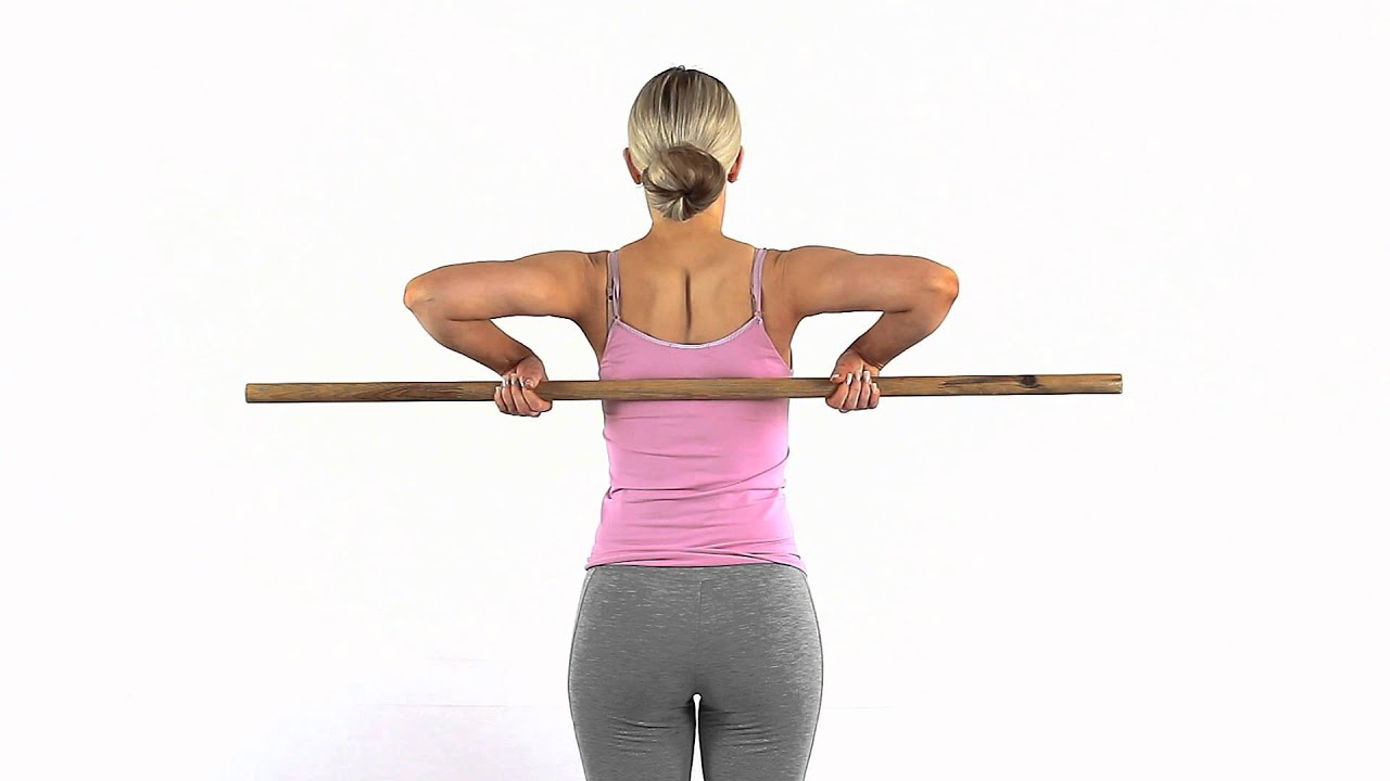 Improve Internal Rotation Of Your Shoulder Using A Dowel
