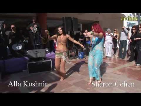 Alla Kushnir & Sharon Cohen Belly dancing duet