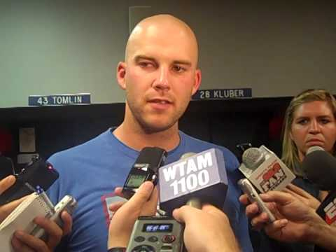 VIDEO: Justin Masterson with media after rough outing