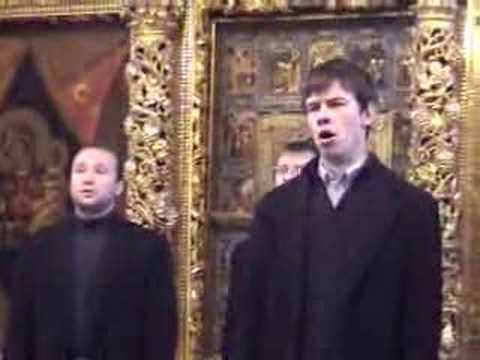 Russian Orthodox Choir, Sacred Russian singing Chesnokov's