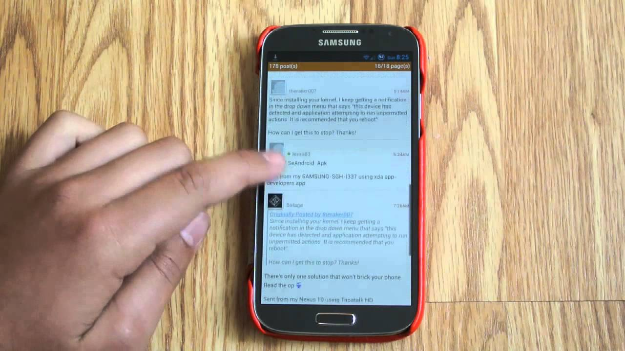 Kernels (Explained) (How To Install) on Samsung Galaxy S4 - YouTube