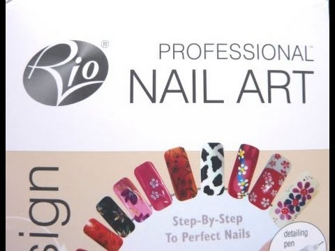 Rio Professional Nail Art Kit Product Review and Rhinestone & Glitter ...