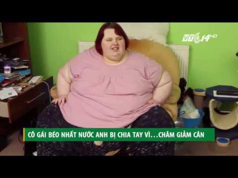 (VTC14)_Cô gái béo nhất nước Anh bị bạn trai bỏ vì chăm giảm cân