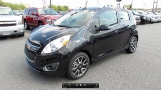 2013 Chevrolet Spark 2LT Start Up, Exhaust, And In Depth