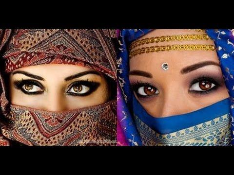 ஐ MAQUILLAJE ARABE ஐ Look exótico ojos ahumados ¡Súper sensual!