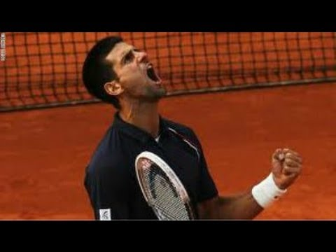 Novak Djokovic Big Win over Milos Raonic (French Open 2014)