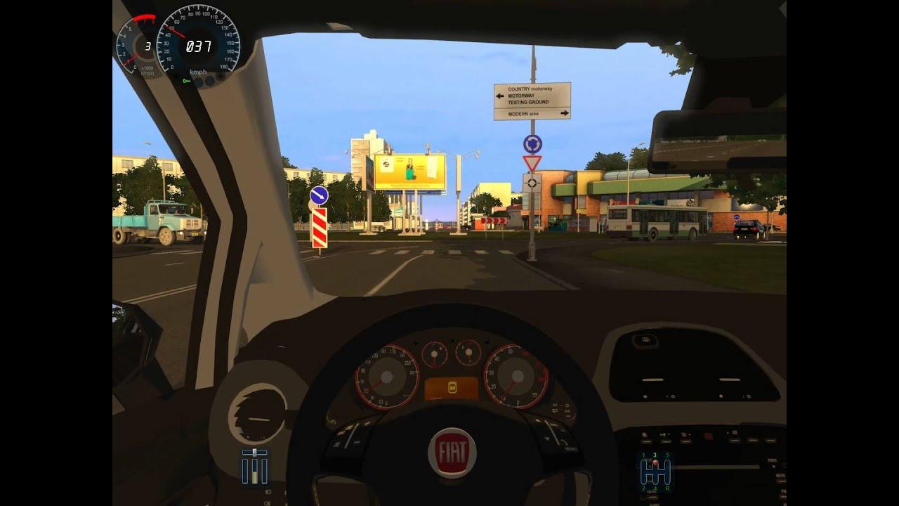 City Car Driving Fiat Punto