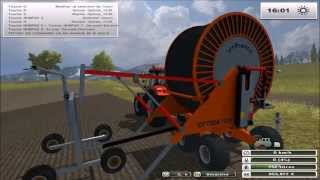 #81 Enrouleur IrriFrance Optima 1036 Farming Simulator