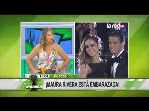 Maura Rivera está embarazada