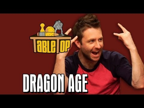Dragon Age: Chris Hardwick, Kevin Sussman, and Sam Witwer on TableTop, episode 19 pt. 1
