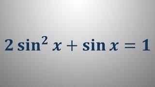Trigonometrične enačbe 14
