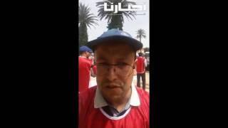 بالفيديو :احتجاج الأساتذة حاملي الماستر