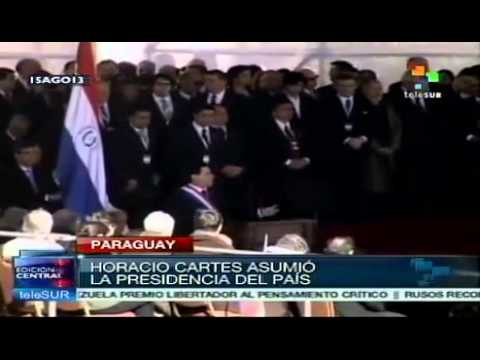 Paraguay's President Horacio Cartes sworn in