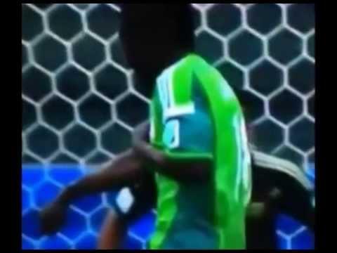 Micheal Babatunde Breaks Arm Blocking Shot From Onazi