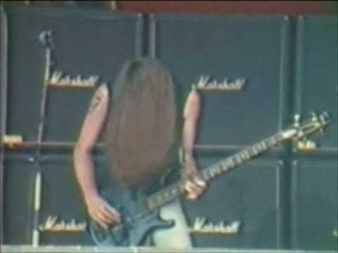 Cliff Burton - (Anesthesia) Pulling Teeth [Live]