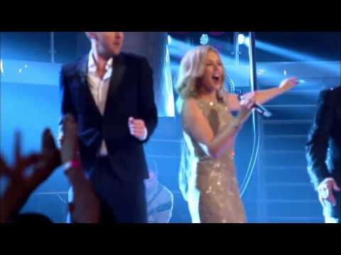 Kylie Minogue, Will.I.Am, Tom Jones & Ricky Wilson - Rocks (The Voice UK 5.04.2014)