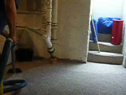 Water Damage Restoration from wet basement in Oradel New Jersey NJ, Dr