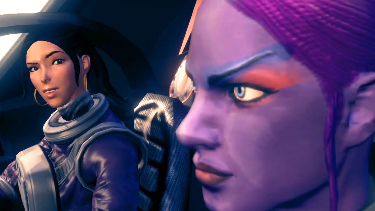 Saints row 3: naked female character hentia clips