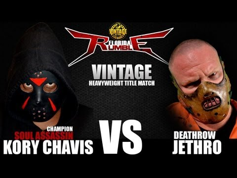 Deathrow Jethro vs Kory Chavis - Vintage Florida Rumble 2013 Commercial