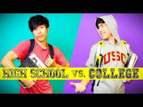 High School You Vs. College You