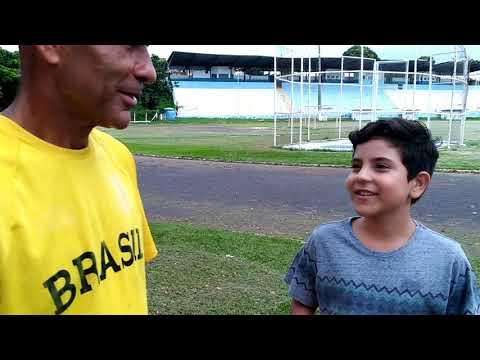Repórter Mirim entrevista técnicos do Atletismo