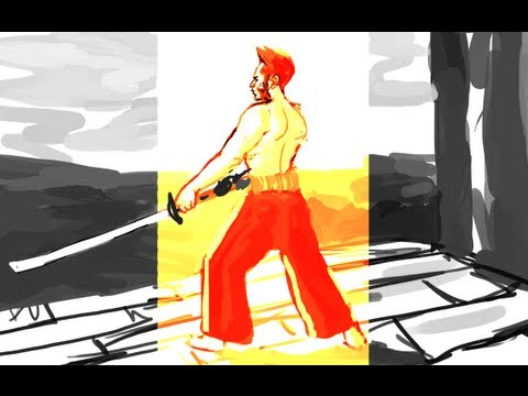 LiveDraw! 7/26/2013 (The Wolverine, X-Men, and Naruto)