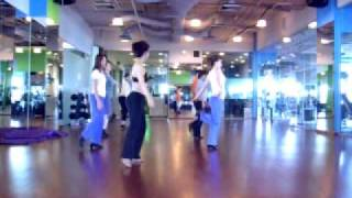 Line Dance- Chicken Walk JiveWalk Through ( Jan11)