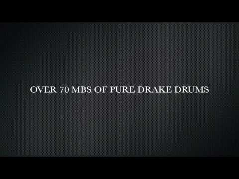 DRAKE SAMPLE DRUM SOUNDS